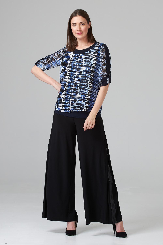 Joseph Ribkoff Pantalons Noir Style 201041