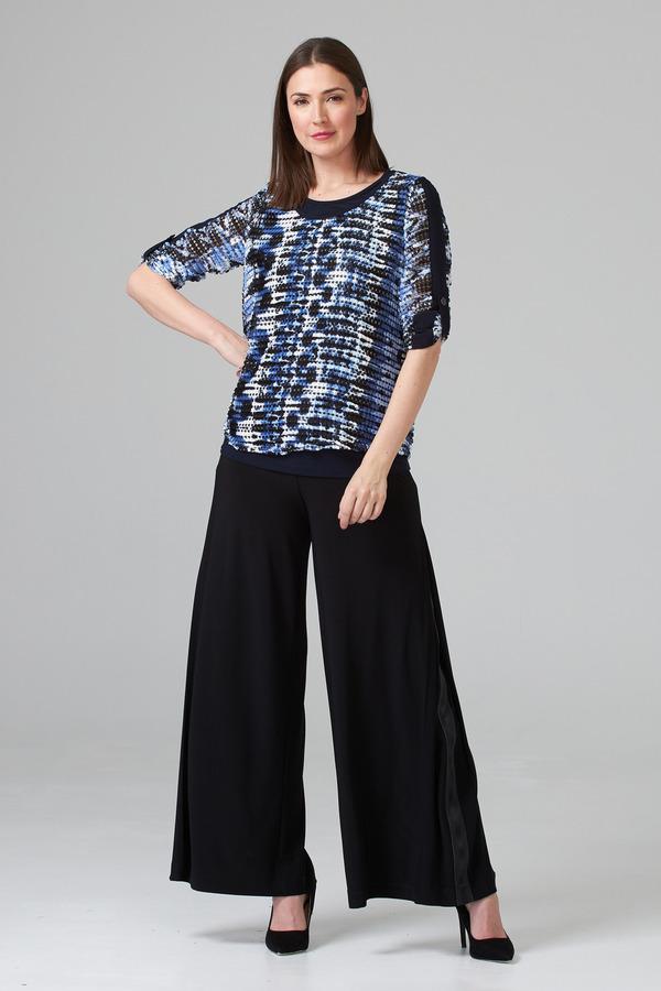 Joseph Ribkoff Black Pants Style 201041
