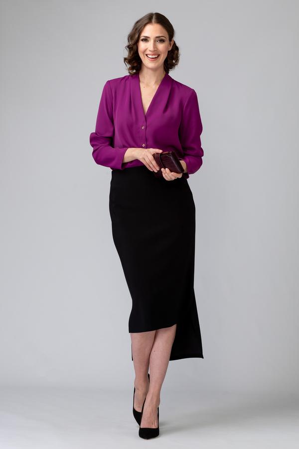 Joseph Ribkoff Black Skirts Style 201074