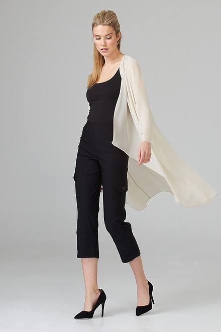Joseph Ribkoff Black Pants Style 201076