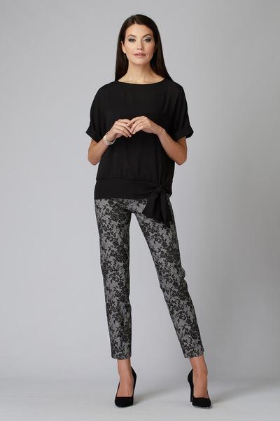 Joseph Ribkoff Pantalons Noir/Blanc Cassé Style 201083