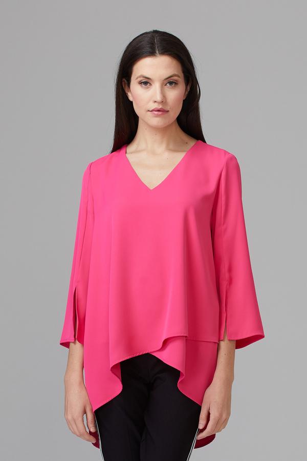 Joseph Ribkoff Chemises et blouses Rose Vif Style 201085