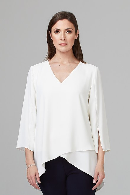 Joseph Ribkoff Vanilla 30 Shirts & Blouses Style 201085