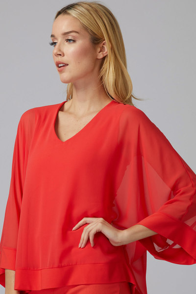 Joseph Ribkoff PAPAYA Shirts & Blouses Style 201086
