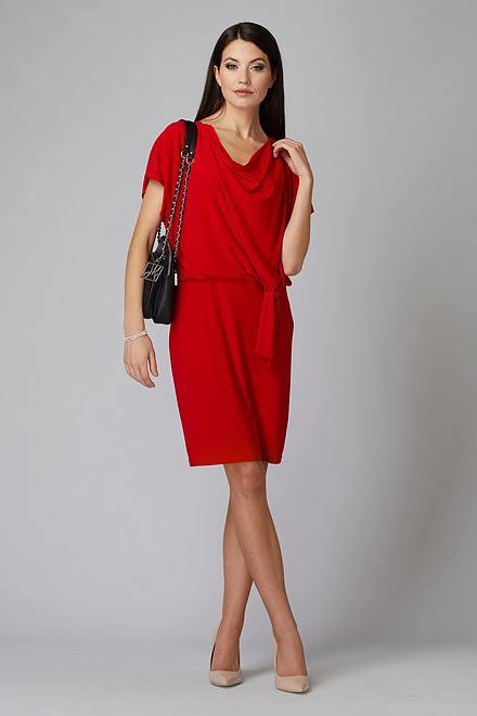 Joseph Ribkoff Lipstick Red 173 Dresses Style 201147