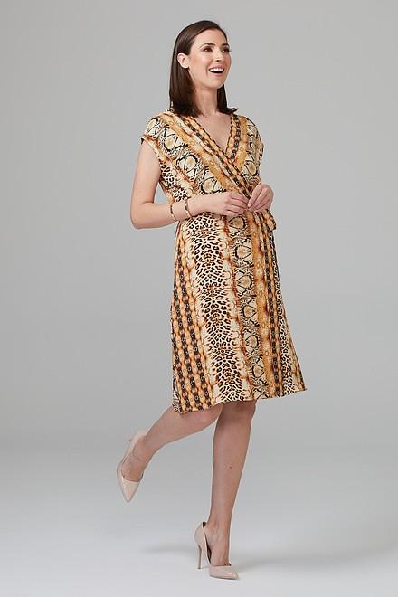 Joseph Ribkoff Gold/Black Dresses Style 201149