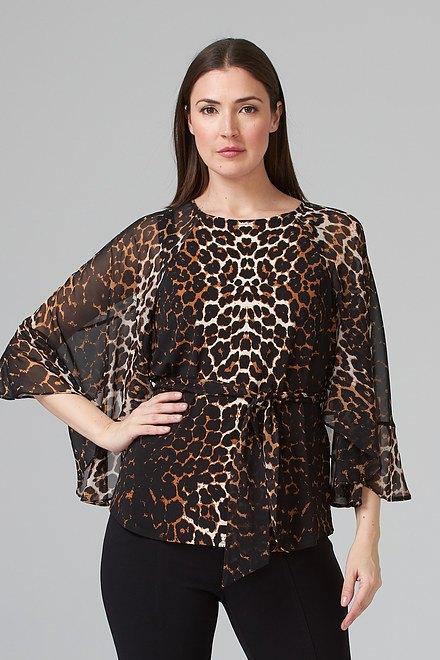 Joseph Ribkoff Chemises et blouses Beige/Noir Style 201150