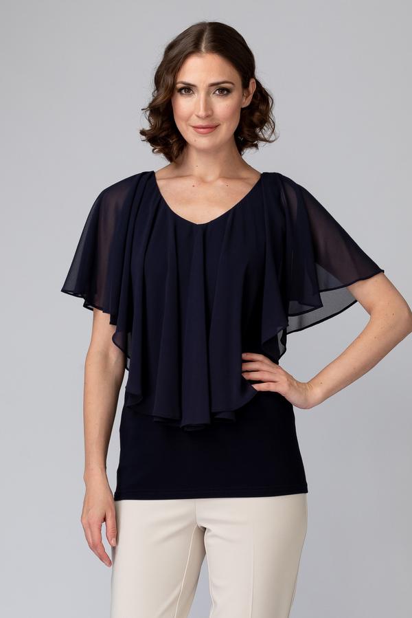 Joseph Ribkoff Chemises et blouses Bleu Minuit 40 Style 201158