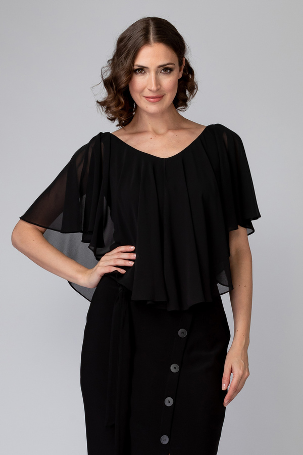 Joseph Ribkoff Black Shirts & Blouses Style 201158