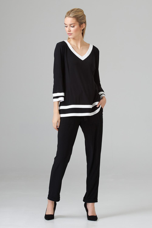 Joseph Ribkoff Pantalons Noir Style 201164
