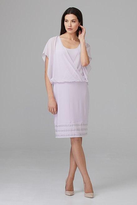 Joseph Ribkoff LAVENDER FOG Dresses Style 201166