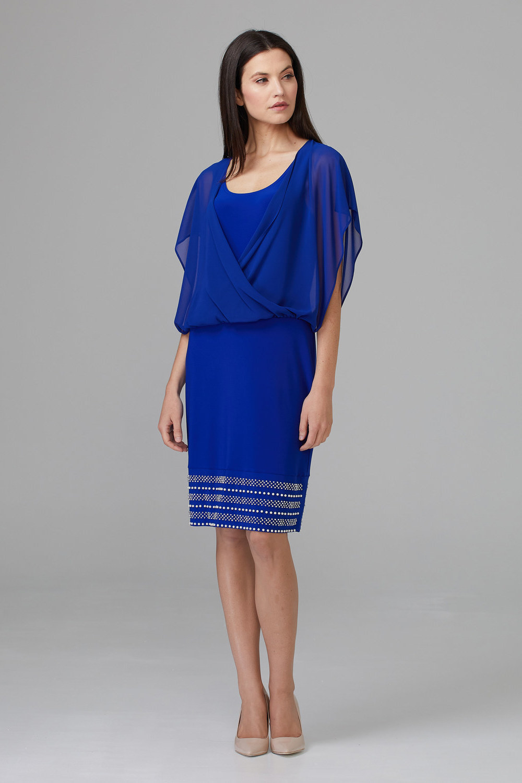 Joseph Ribkoff Royal Sapphire 163 Dresses Style 201166