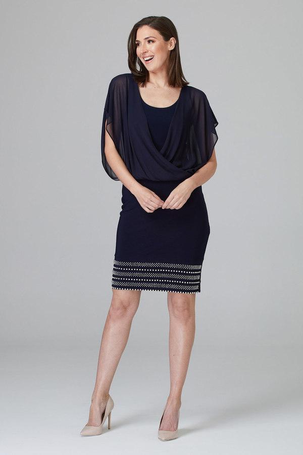 Joseph Ribkoff Midnight Blue 40 Dresses Style 201166