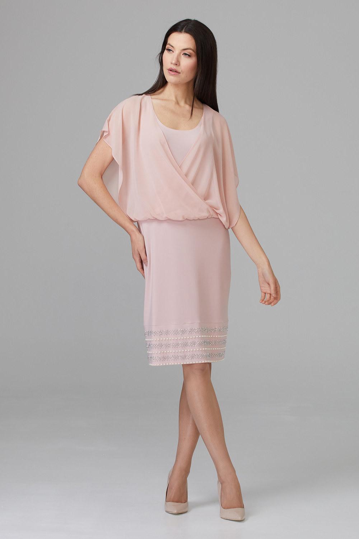 Joseph Ribkoff Rose Dresses Style 201166