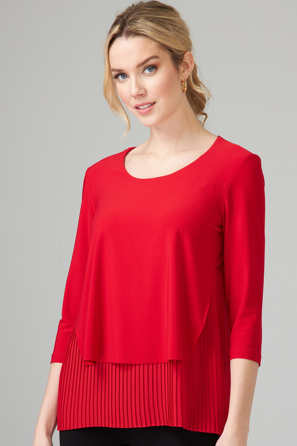 Joseph Ribkoff Tee-shirts et camisoles Rouge A Levres 173 Style 201171