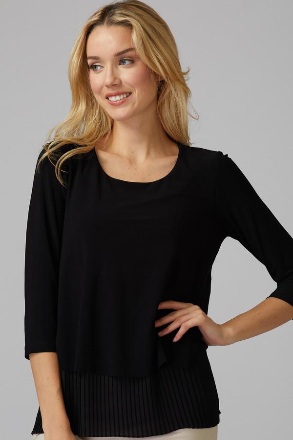 Joseph Ribkoff Tee-shirts et camisoles Noir Style 201171