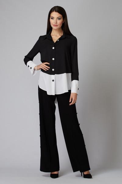 Joseph Ribkoff Chemises et blouses Noir/Blanc Cassé Style 201173