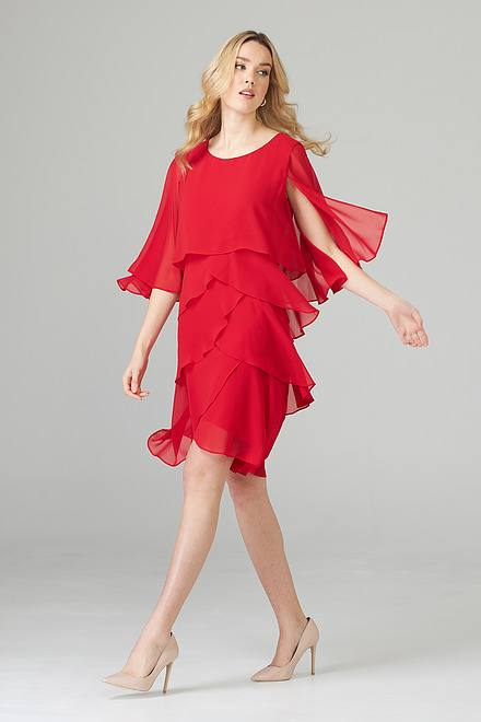 Joseph Ribkoff Robes Rouge A Levres 173 Style 201176