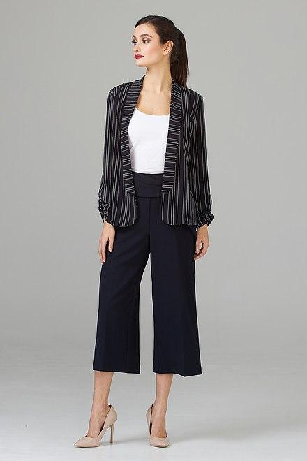 Joseph Ribkoff Pantalons Bleu Minuit 40 Style 201201