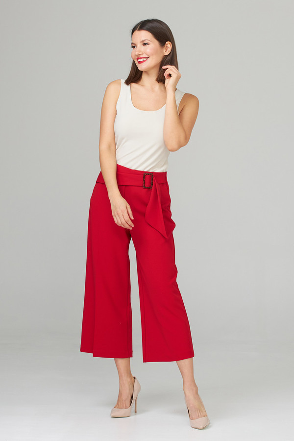 Joseph Ribkoff Pantalons Rouge A Levres 173 Style 201201