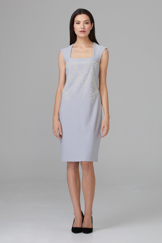 Joseph Ribkoff GREY FROST  193 Dresses Style 201218