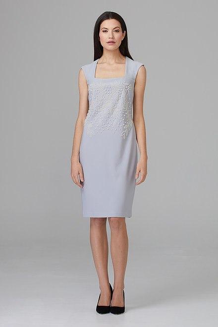 Joseph Ribkoff Robes Gris Givré 193 Style 201218