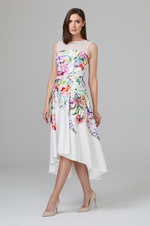 Joseph Ribkoff Robes Vanille/Multi Style 201219