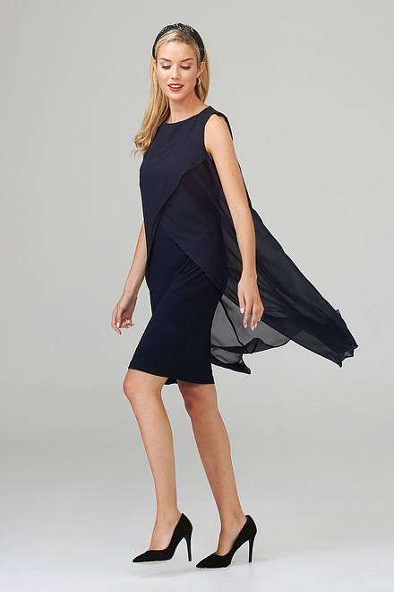Joseph Ribkoff Robes Bleu Minuit 40 Style 201220