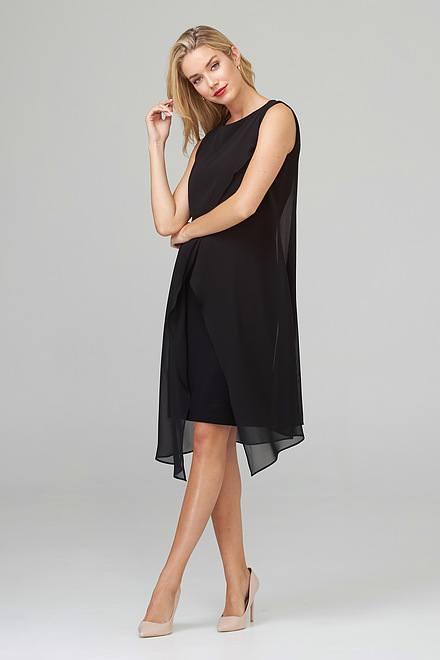 Joseph Ribkoff Robes Noir Style 201220