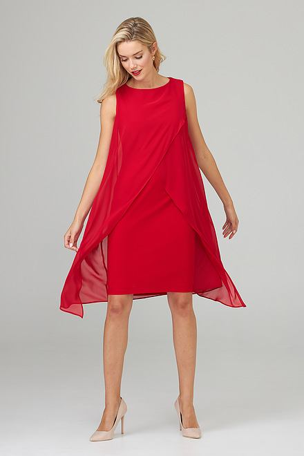Joseph Ribkoff Robes Rouge A Levres 173 Style 201220
