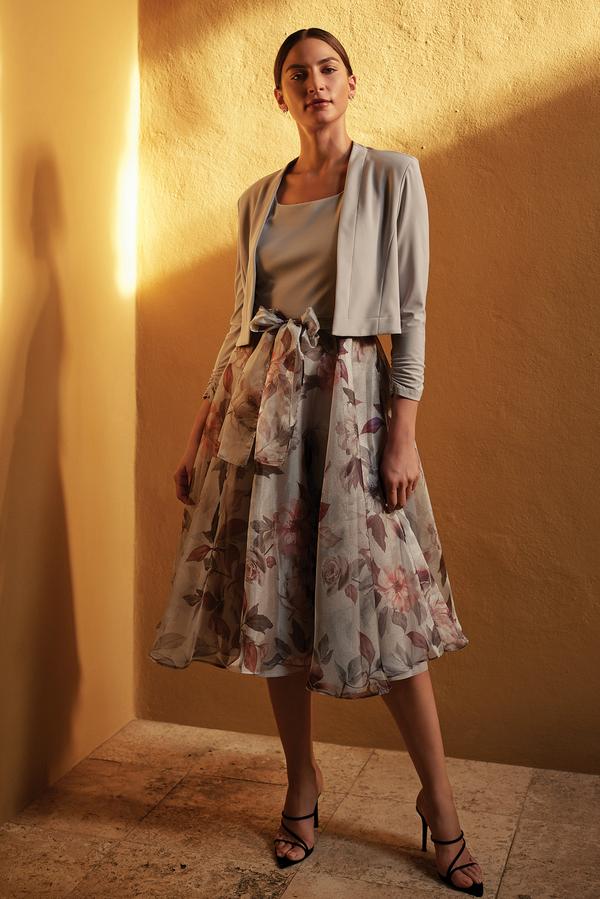 Joseph Ribkoff Grey/Multi Dresses Style 201221