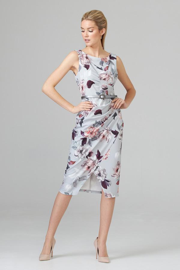 Joseph Ribkoff Robes Gris/Multi Style 201222