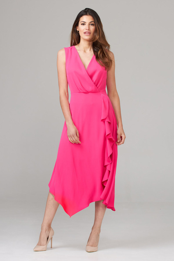 Joseph Ribkoff Robes Rose Vif Style 201226