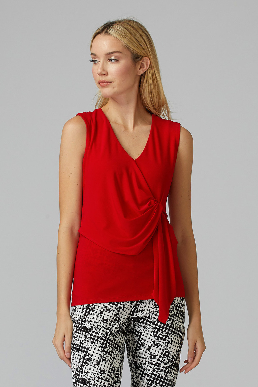 Joseph Ribkoff Lipstick Red 173 Tees & Camis Style 201236