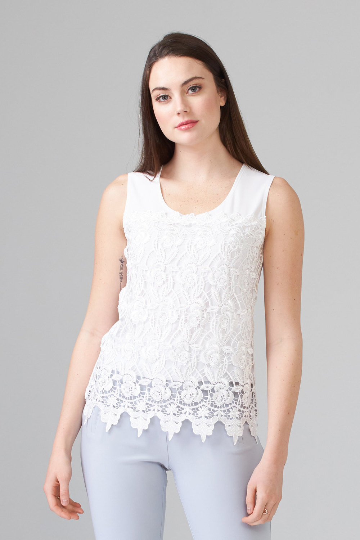 Joseph Ribkoff Tee-shirts et camisoles Vanille 30 Style 201237