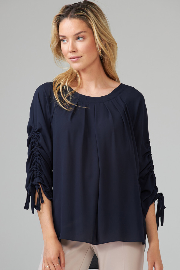 Joseph Ribkoff Midnight Blue 40 Shirts & Blouses Style 201241