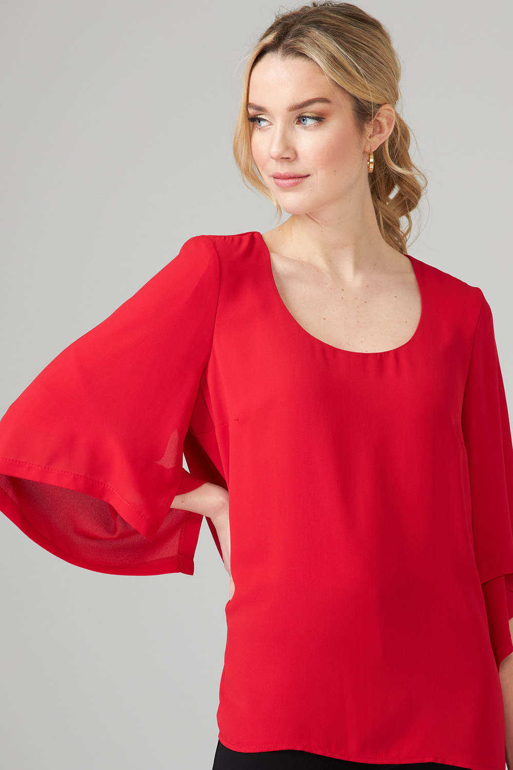 Joseph Ribkoff Lipstick Red 173 Tees & Camis Style 201242