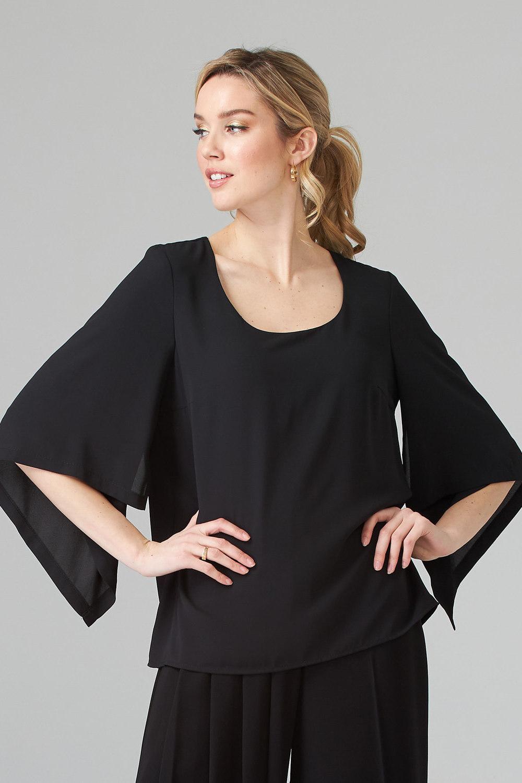 Joseph Ribkoff Black Tees & Camis Style 201242