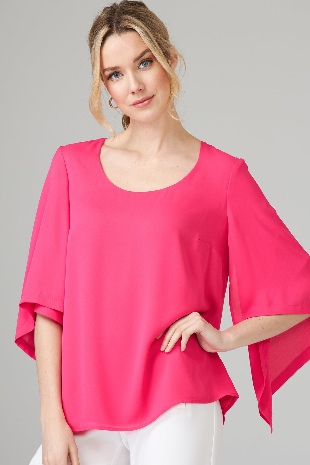 Joseph Ribkoff HYPER PINK Tees & Camis Style 201242
