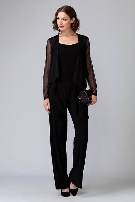 Joseph Ribkoff Pantalons Noir Style 201254