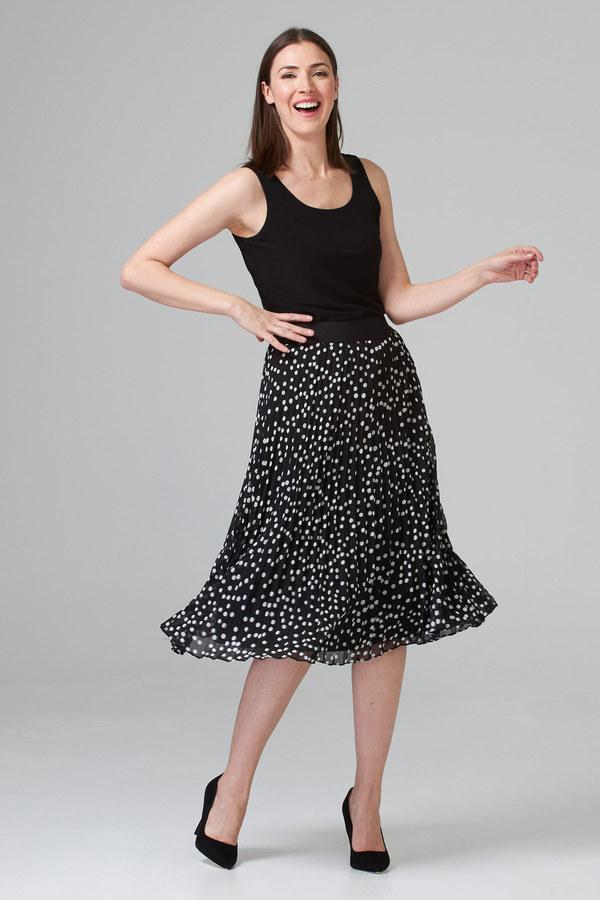Joseph Ribkoff Black/Vanilla Skirts Style 201255