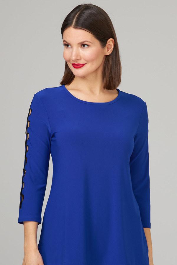 Joseph Ribkoff Tee-shirts et camisoles Saphire Royal/Noir Style 201259