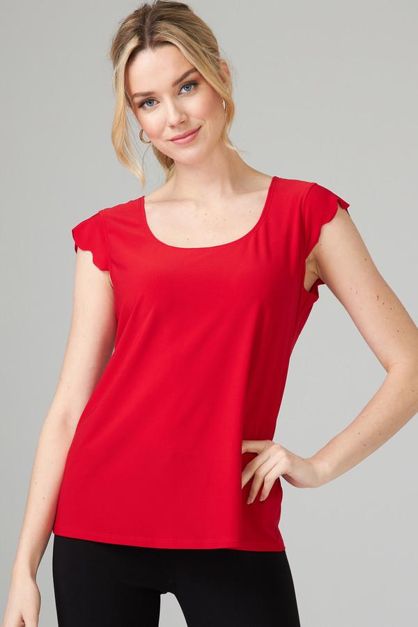 Joseph Ribkoff Lipstick Red 173 Tees & Camis Style 201260