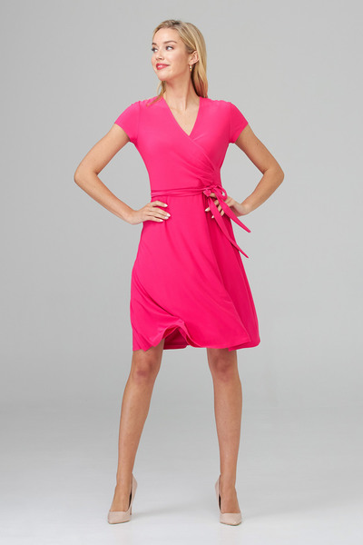 Joseph Ribkoff Robes Rose Vif Style 201272