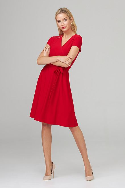 Joseph Ribkoff Robes Rouge A Levres 173 Style 201272