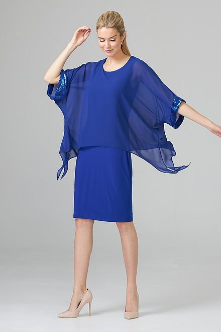 Joseph Ribkoff Royal Sapphire 163 Dresses Style 201273