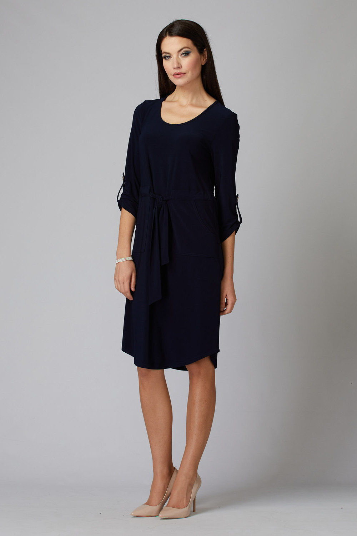Joseph Ribkoff Robes Bleu Minuit 40 Style 201274