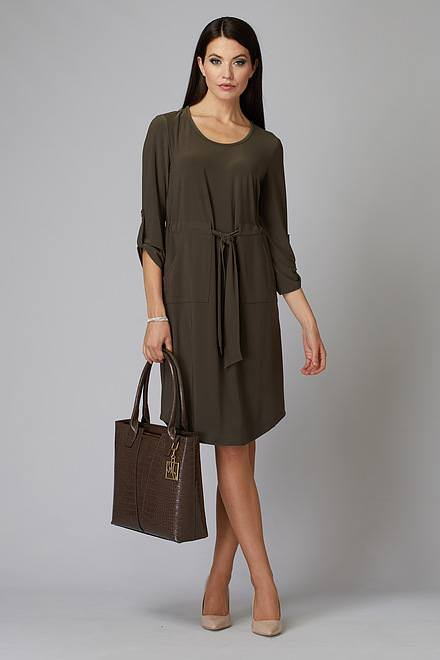 Joseph Ribkoff Avocado 183 Dresses Style 201274