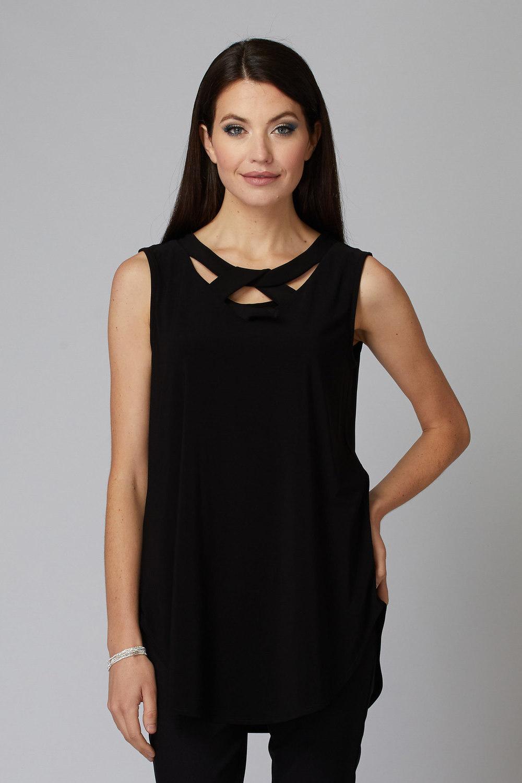 Joseph Ribkoff Black Tunics Style 201284