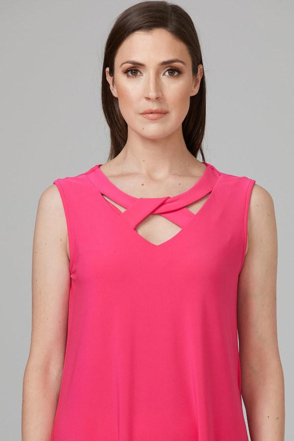 Joseph Ribkoff Tuniques Rose Vif Style 201284